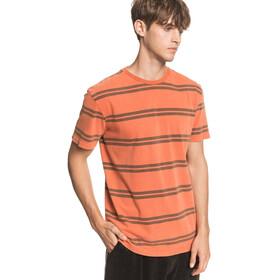 Quiksilver Capitoa T-shirt Homme, redwood capitoa